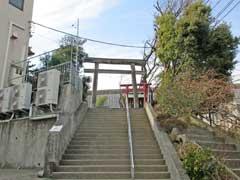 蔵王高根神社鳥居