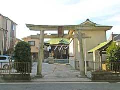和田杉山神社鳥居