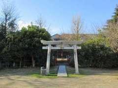 氷取沢神社鳥居