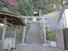 上中里神社鳥居