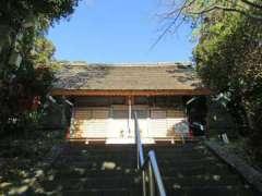 栗木神社社殿