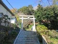 中原熊野神社鳥居
