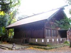 洲崎大神社殿