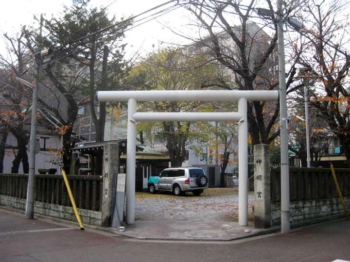 東神奈川神明宮 横浜市神奈川区東神奈川の神社東神奈川神明宮 能満寺が創建した正安元年に創建、旧村社