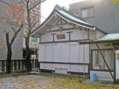 東神奈川神明宮神楽殿