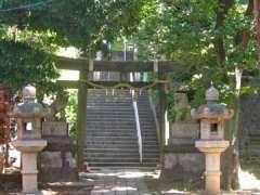 横浜一之宮神社鳥居