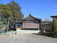 片倉杉山神社神楽殿