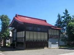 八幡神社神楽殿