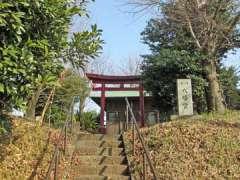 菅田八幡社鳥居