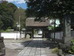 上行寺山門