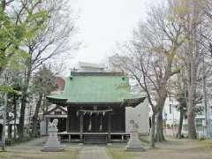 町屋神社社殿