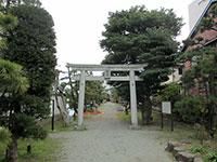 琵琶島神社鳥居