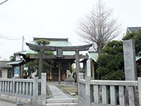 洲崎神社鳥居
