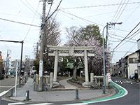 金沢八幡神社鳥居