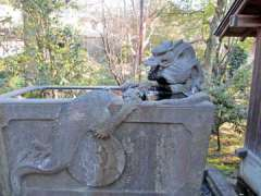 本法寺手水鉢