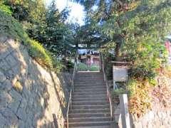駒林神社鳥居