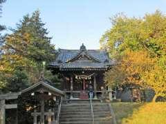 駒林神社社殿