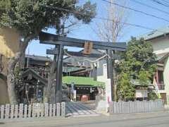 菊名神社鳥居