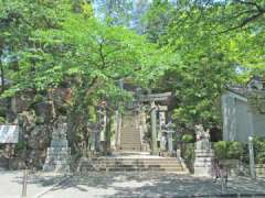 師岡熊野神社鳥居