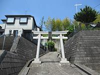 上山八幡神社鳥居