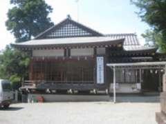 王子神社神楽殿