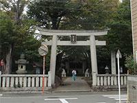 戸部杉山神社鳥居