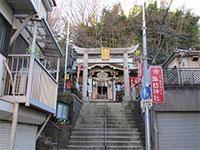 石川町諏訪神社鳥居