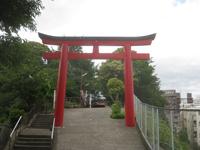 芝生浅間神社二鳥居