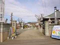 宝蔵寺山門