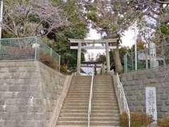 阿久和熊野神社鳥居