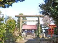 瀬谷神明社鳥居