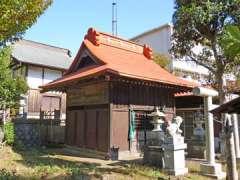 上飯田神明社社殿