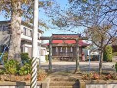柳明神社鳥居
