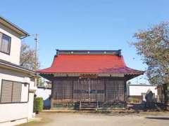 柳明神社拝殿