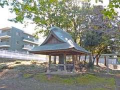 織部八幡神社鐘楼