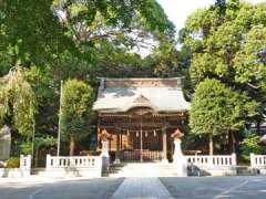 御霊神社拝殿