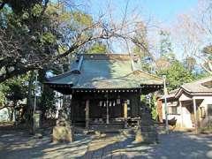 白幡神社社殿