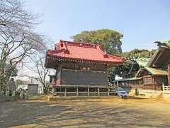 岸谷杉山神社神楽殿