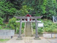 駒岡八幡神社鳥居