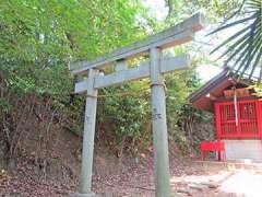 駒岡厳島神社鳥居