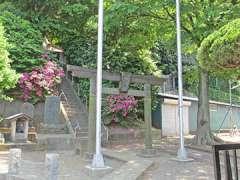 駒岡神明社鳥居