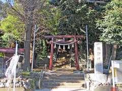 寺谷熊野神社鳥居