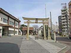 鶴見神社鳥居
