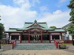潮田神社社殿