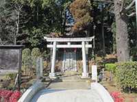 茅ヶ崎杉山神社鳥居