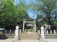 池辺杉山神社鳥居