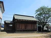 池辺杉山神社神楽殿