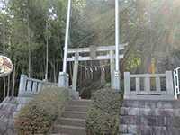 勝田杉山神社鳥居