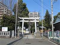 中川杉山神社鳥居