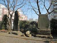 中川杉山神社石碑
